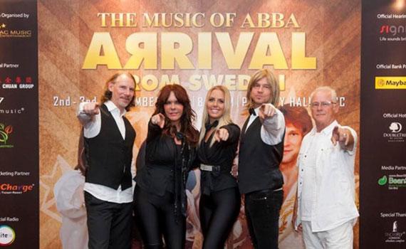 BeanSE - The Music off ABBA – Arrival From Sweden – Digital Media Partner